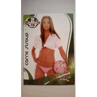 Carrie Stroup 2006 Bench Warmer World Cup Soccer #H88 SP Playboy