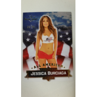 Jessica Burciaga 2013 Bench Warmer Hobby All-American Gold Foil #9 68/99 Playboy