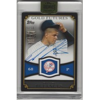 DELLIN BETANCES 2017 Topps Archives Signature Series Gold Futures Autograph /50