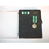 US Coast Guard Commendation Set - Miniature Medal, Ribbon Unit, Lapel Pin