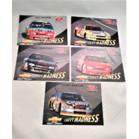 1997 Pinnacle Racers Choice Chevy Madness 5 Jumbo Card Set Gordon Earnhardt
