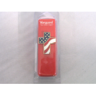Vanguard Cross With US Flag Design Lapel Pin
