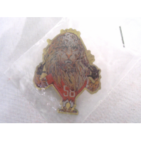 1994 Coke MONSTERS OF THE GRIDIRON Pin Derrick Attack Cat Thomas