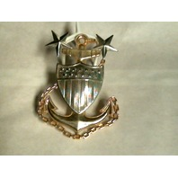 Vanguard Coast Guard Device Master Chief Petty Officer E9 - Metal - 4""