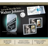 Walter Johnson Elemetal 1 Troy Ounce .999 Fine Silver T-206 Baseball Greats