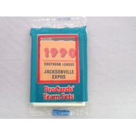 1990 ProCards Jacksonville Expos Minor League Complete UNOPENED Team Set