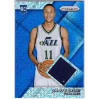 DANTE EXUM 2014-15 Panini Prizm Blue Mojo Jerseys Relic Rookie Card #70