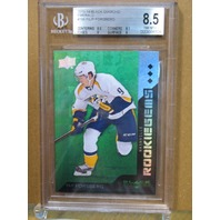 FILIP FORSBERG 2013-14 13/14 Black Diamond Emerald /25 BGS 8.5 Rookie Card #198