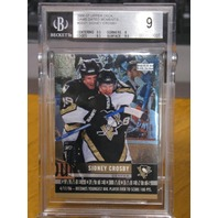 SIDNEY CROSBY 2006-07 Upper Deck Game Dated Moments BGS 9.0 MINT Card #GD21