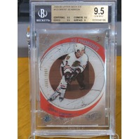 BRENT SEABROOK 2005-06 Upper Deck Ice Premieres /1999  BGS 9.5 Rookie Card #123