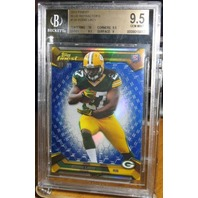 EDDIE LACY 2013 Topps Finest Blue Rookie Parallel Card #130 86/99 GEM MINT 9.5