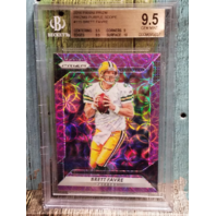 Brett Favre 2016 Panini Prizm Purple Scope Prizms BGS 9.5 Gem Mint Green Bay Packers