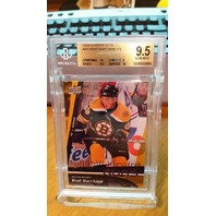 BRAD MARCHAND 2009-10 09/10 Upper Deck Young Guns Graded 9.5 Rookie Card #452