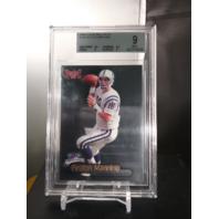 Peyton Manning 1998 Fleer Brilliants #120 Rookie RC BGS 9 MINT Colts Broncos