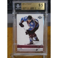 PAUL STASTNY 2006-07 Upper Deck Young Guns YG Rookie Card #207 BGS Graded 9.5