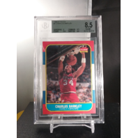 Charles Barkley 1986-87 Fleer 7 Rookie RC Beckett BGS 8.5 NM-MINT 76ers