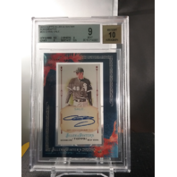 Chris Sale 2011 Topps Allen & Ginter Framed Mini Autograph Auto BGS 9 MINT A&G