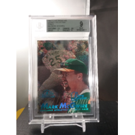 Mark McGwire 1997 Flair Showcase Row O Seat 52 Legacy Collection /100 BGS 9 MINT