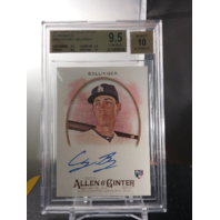 Cody Bellinger 2017 Topps Allen & Ginter Rookie RC Autograph Auto BGS 9.5 GEM