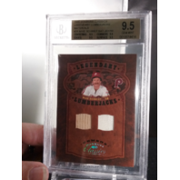 Mike Schmidt 2005 Classics Legendary Lumberjacks Bat Jersey /50 BGS 9.5 POP=1