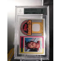 Mike Schmidt 2001 Topps American Pie Timeless Classics Relics Game Worn BGS 9