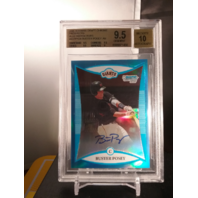 Buster Posey 2008 Bowman Draft Chrome Prospects Blue Refractor Auto /150 BGS 9.5