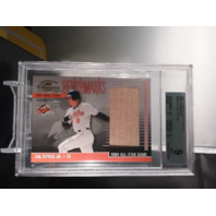 Cal Ripken Jr 2001 Donruss Classics Benchmarks 1984 All-Star Bench BGS 9 MINT