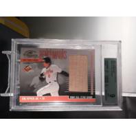Cal Ripken Jr 2001 Donruss Classics Benchmarks 1984 All-Star Bench BGS 9 MINT