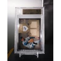 Sandy Koufax 2011 Tier One Top Shelf Relics Dual /99 Beckett BGS 9.5 GEM MINT