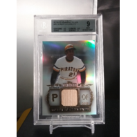 Roberto Clemente 2013 Topps Tribute Retired Remnants Relic Bat /99 BGS 9 MINT