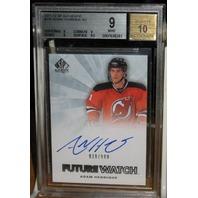 ADAM HENRIQUE 2011-12 UD SP Authentic Rookie Card #239 Auto /999 Graded 9 /10 RC