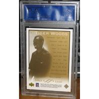 TIGER WOODS 2003 Upper Deck Card #1 Graded PSA 9