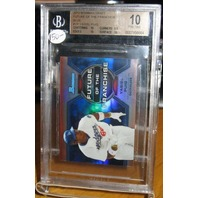 YASIEL PUIG 2013 Bowman Draft Future of Franchise Blue Mini /250 BGS 10 Pristine