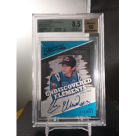 Chase Elliot 2011 Elements Undiscovered Blue Ink Autograph BGS 8.5 NM-MT /225