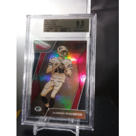 Aaron Rodgers 2017 Panini Certified Gold Team Mirror Red /99 BGS 9.5 GEM POP=1