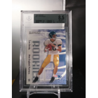 Tom Brady 2000 Fleer Impact Rookie RC Beckett BGS 8.5 NM-MT Wolverines Patriots