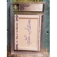 Lee Stine 2013 Leaf Cut Signatures Beckett Pride of the Pinstripe /10 Auto