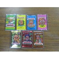 "Lot of 7 Garbage Pail Kids GPK Vintage All New Series 1-7 ANS Sealed ""WAX"" Packs"