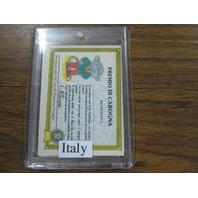 1985 Garbage Pail Kids Sticker 108 Italy Sgorbions Pippo-Strello Haunted Hollis