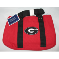 Collegiate Collection University of Georgia Tote Purse Bag Snap Close NWT