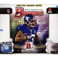 2015 Bowman Football Hobby 10 Box Case (Sealed)