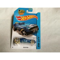 Hot Wheels 2015 HW City Space Team Rocketfire Blue Secret Treasure Hunt 44/250