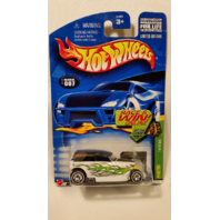 Hot Wheels Treasure Hunt 2002 #7 Phaeton Real Riders 4/12 Mattel