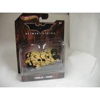 Hot Wheels 2011 Batman Begins Tan Desert Camo Tumbler X4038 1:50 Scale Mattel