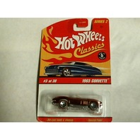 Hot Wheels 2005 Classics Series 2 1965 Corvette Red #3 of 30 J2759