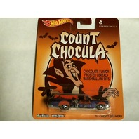 Hot Wheels Count Chocula '59 Chevy Delivery Real Riders 2013 Pop Culture Cereal