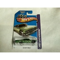 Hot Wheels 2013 HW Showroom 59 Chevy Impala 220/250 Heat Fleet Green