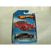 Hot Wheels 2009 Modified Rides Tail Dragger Lowrider Purple 1/10 157/190 Mattel