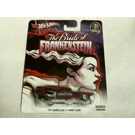 Hot Wheels 2012 Monsters  Bride of Frankenstein '59 Cadillac Funny Car Real/R