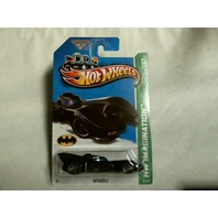 Hot Wheels 2013 HW Imagination Batmobile 61/250 X1709 Keaton Batman Pop Culture